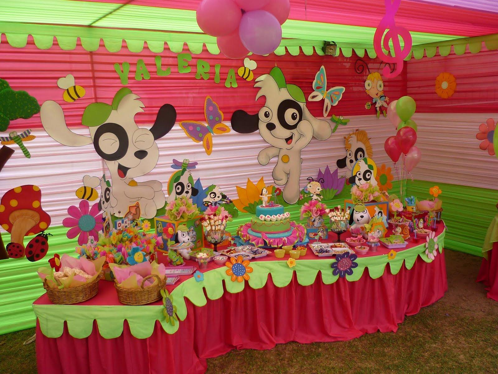Resultado de imagen para mesa de fiesta infantil