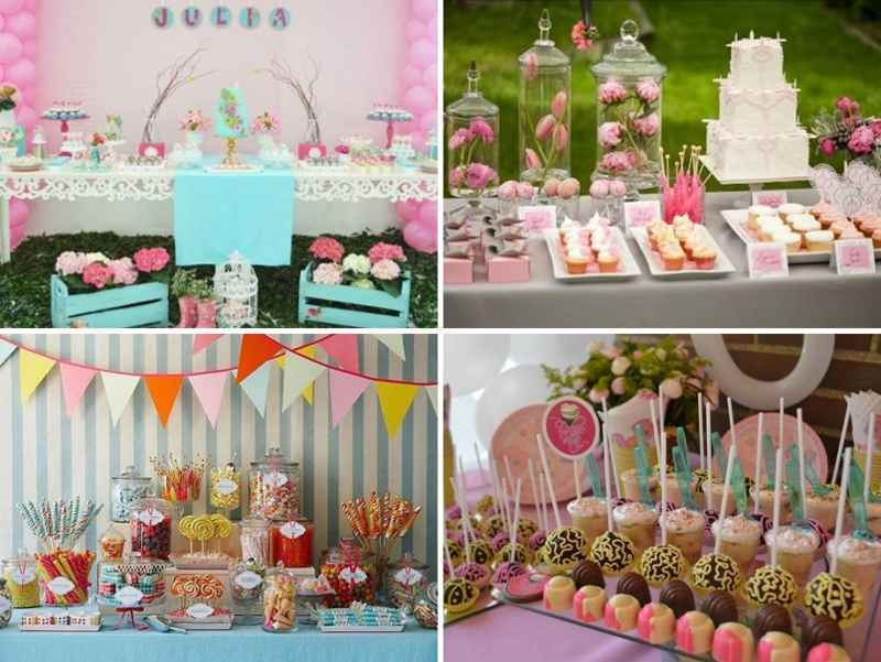 3 diferencias entre mesa de dulces y postres for Mesa de dulces para 15