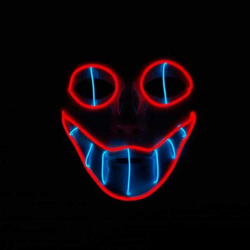Máscara Mod 1 rojo azul