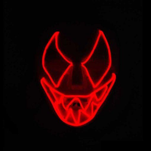 Mascara Mod 2 roja
